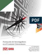 Formacion de Investigadores en el contexto universitario