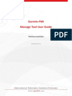Garmin-FMI Manage Tool User Guide V1.06