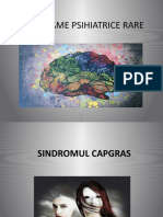 sindroame rare in psihiatrie