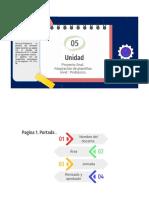 plantilla portafolio digital docentes para nivel Prebasica .