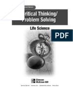 Critical Thinking-Problem Solving Life Science