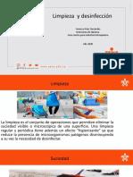 Diapositivas desinfección