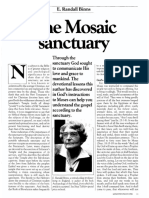 [BINNS E. Randall] The Mosaic Sanctuary (Ministry, 1986-05)