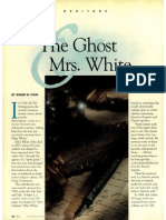 [COON Roger W] The Ghost & Mrs White (Adventist Review 1998, January 15)