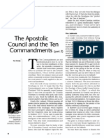 [CROSBY Tim] The Apostolic Council and the Ten Ccommandments, part 2 (Ministry 2005-04)