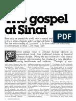 [DAILY Steve] Tbe gospel at Sinai (Ministry 1983-03)