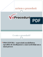 Cum să scriem o procedură 2003.ppt