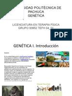 GENÉTICA I. A.