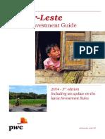 Taxes - Timor Leste Guide (2014)