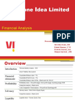 VIL_Financial Analysis_ (Final) - (Roll No. 27B , 26A , 19B , 33B)