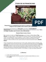 EL MÉTODO DE UN FRANCISCANO.docx