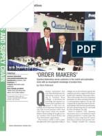 QuantumAutomation US Business Review 2009
