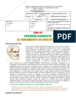 FILOSOFÍA 9- GUÍA 4- PERIODO 2-ARISTÓTELES ll