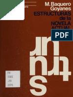 BAQUERO GOYANES - Estructuras de la novela actual.pdf