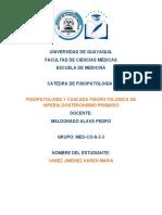 cascada fisiopatologica y fisiopatologia de hiperaldostironismo primario