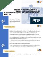 LINEAMIENTOS PARA ADOPTAR PROTOCOLOS EN EL REGRESO A ENTRENAMIENTOS DE FÚTBOL BASE FORMATIVO_(28.08.20)
