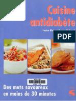 Cuisine Antidiabète
