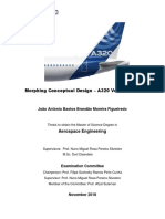 Morphing Conceptual Design - A320 Vertical Tail