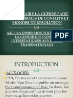 AXE 1 :LA DIMENSION POLITIQUE