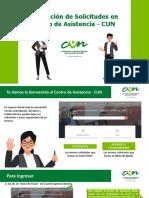 Generar tickets en Centro dde Asistencia CUN.pptx