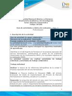 Guia de actividades y Rúbrica de evaluación - Unidad 3 - Paso 3 - Profundización