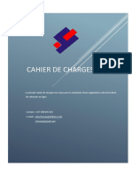 Cahier de charge junior
