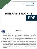 Aula 5 - Minerais e Rochas