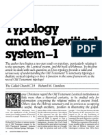 [DAVIDSON Richard M.] Typology and the Levitical system - Part 1 (Ministry, 1984-02)