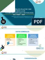 01-Presentación Del Proyecto Playtec Edu-concytec