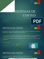 Sistema de costeo I