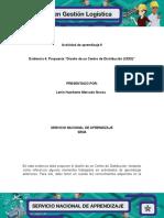 Evidencia 4 Propuesta Diseño de Un Centro de Distribucion CEDI