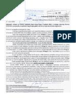 Zahtjev i obavijest Plenkoviću - 17 9 2020