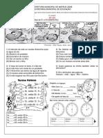 Ensino Fundamental - 4º ano  - 6º Atividade -  10º e 11º Semana