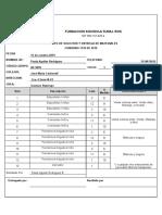 Formato de solicitud de materiales - J.M.C. 2019