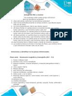 Cuestionario estructuras Sistema Nervioso Central, oido y SPN
