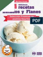 54 DELICIOSAS RECETAS - HELADOS Y FLANES
