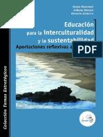 Libro Educación para la interculturalidad