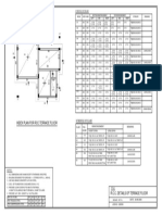 RCC DETAILS OF TERRACE FLOOR PLAN