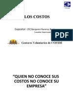 DETERMINACIÓN DE LOS COSTOS