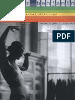 Walter Benjamin, Michael W. Jennings, Howard Eiland, Gary Smith - Walter Benjamin_ Selected Writings, Volume 2_ Part 1_ 1927-1930-Belknap Press (2005).pdf