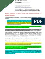 Encargo Fiduciario vs. Fiducia Mercantil