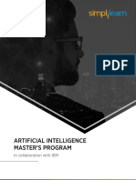 Artificial Intelligence Master's Program