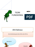 TEORI fungsional