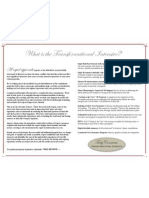 info brochure with border - paragraph