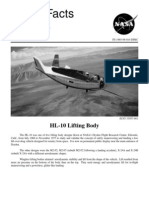 NASA Facts HL-10 Lifting Body 1995
