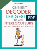 Comment décoder les gestes de vos interlocuteurs et Etre Conscient des Votres.pdf