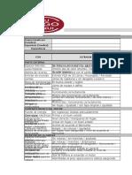 Formato Inspección preoperacional de montacargas