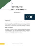 DIPLOMADO EN GERENCIA DE MARKETING 2019-1