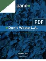 DWLA Final Report