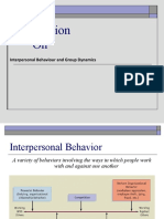 inter personal behavior ppt